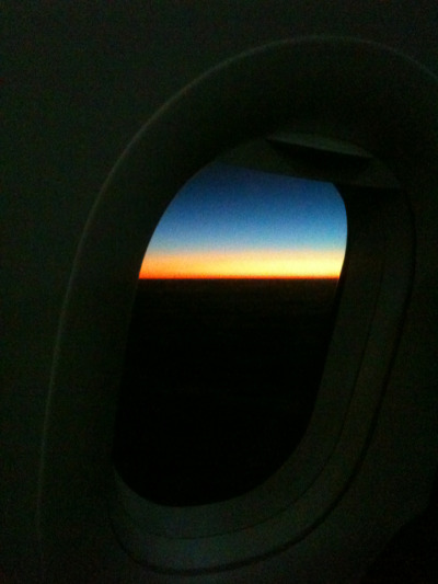 Dawn somewhere between Melbourne and Adelaide