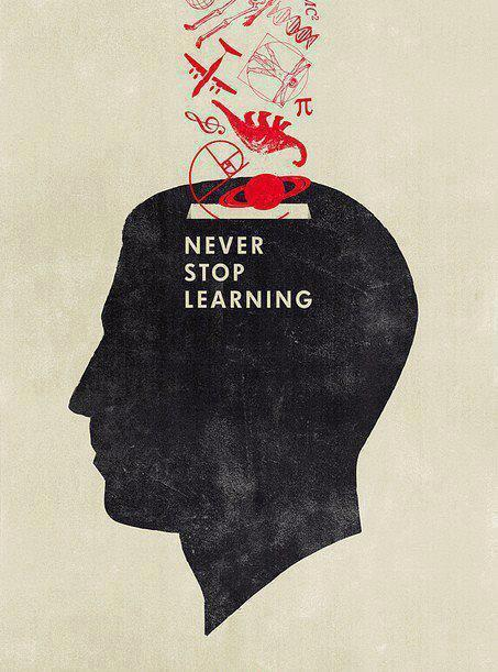 divineirony:  Never stop learning