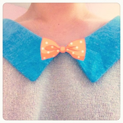 🎀 wannabe bowtie (Taken with Instagram)