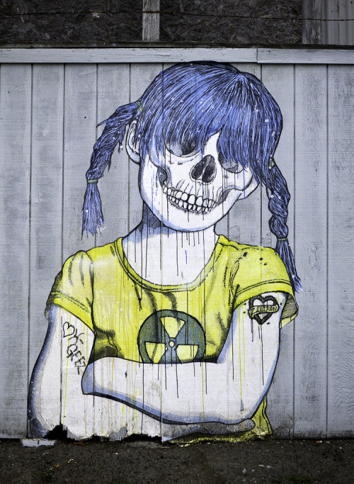 suddenly:  Radioactive Girl (by westbymidwest)