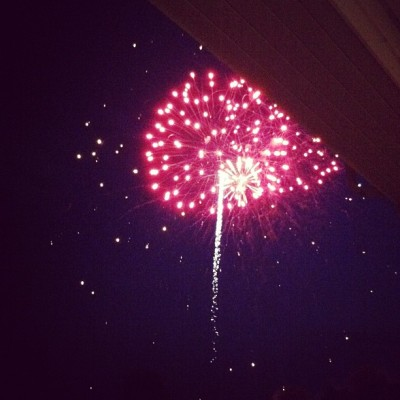 Fireworks  (Taken with Instagram at Wedgewood Golf And Country Club)