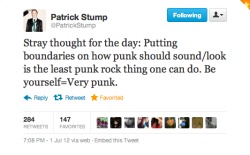 patrickstump-sauce:  i love you