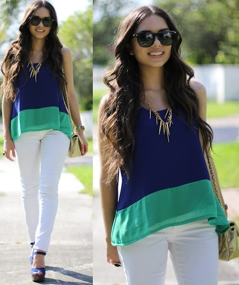 according2ashlee:  Two toned! (by Daniela Ramirez)