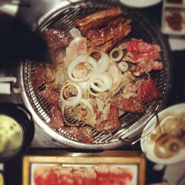 Bam! BBQ k-style (Taken with Instagram at Manna Korean BBQ Little Tokyo)