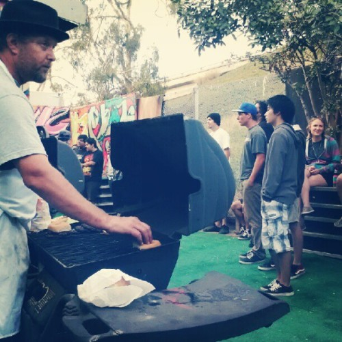 Amazing food at the house warming show! Yummm (Taken with Instagram)