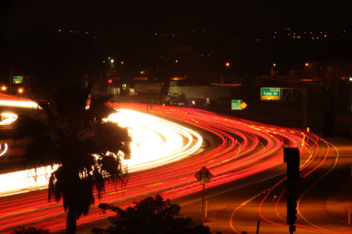 whenyouseeit:  91 freeway @ La Sierra entrance, Riverside California