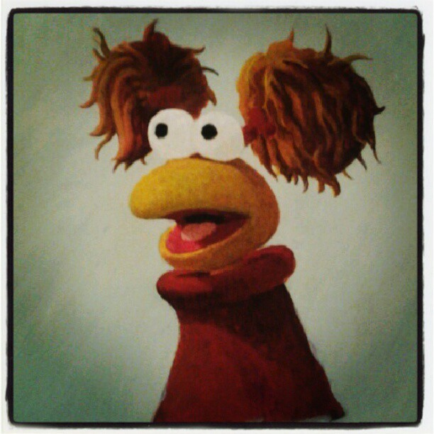 Red fraggle in progress.. Still a lot of work to do! (Taken with Instagram)