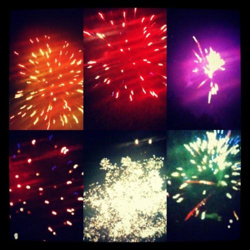 #happy #fourth #of #july #week! #PicFrame #fireworks #colors #pretty #loud #boom #goes #the #dynamite (Taken with Instagram)