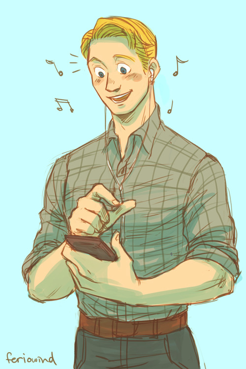 :V I'd like to think Steve would enjoy technology. I mean, how is listening to music on the go not awesome? Also the ability to look up anything you might have questions about on google. How awesome is that?!