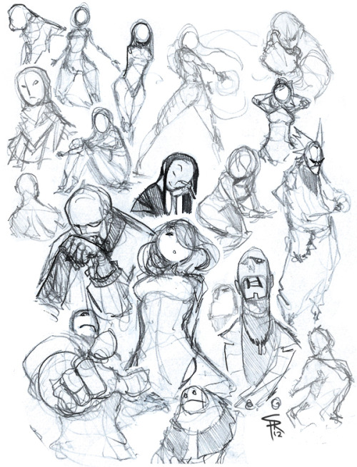 Daaay 21 sketch. Back to basics. Poses, shapes.. whatever! Good way to loosen up.