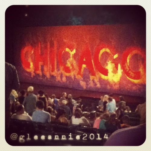 #chicago #themuny #musical #summer #gleeannie2014 #photoofthedaygallery (Taken with Instagram)