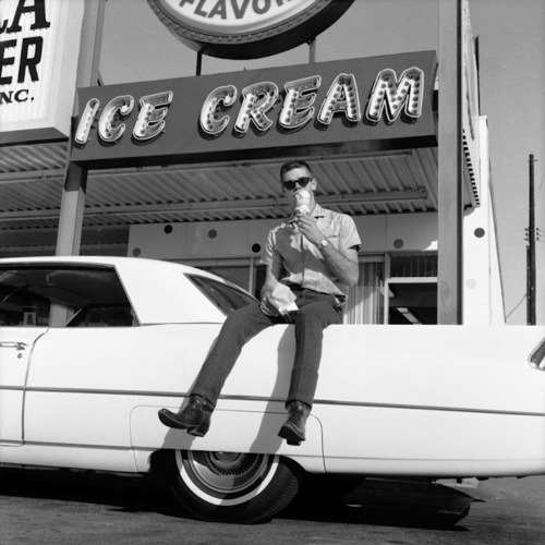 billyw738:  How can you beat some ice cream and and a 60's Cadillac on a 100 degree day?