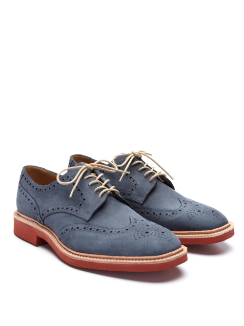 Shoe Of The Week: Loake Logan Derby Navy Brogues