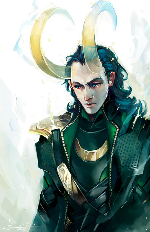 fayren:  I accidentally a Loki.  I wanted horns but I also wanted hair and this is my picture so I do what I want.