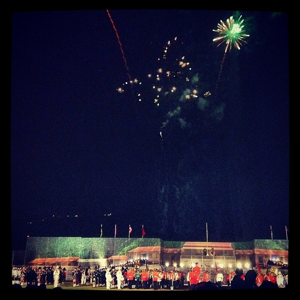 #finale #jamaica #military #tattoo  (Taken with Instagram at Up Park Camp)