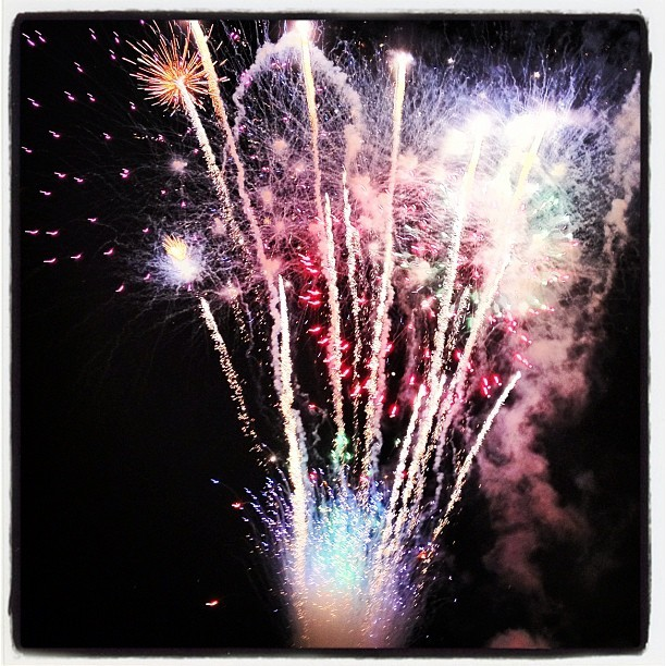 #finale #fireworks #jamaica #military #tattoo  (Taken with Instagram at Up Park Camp)