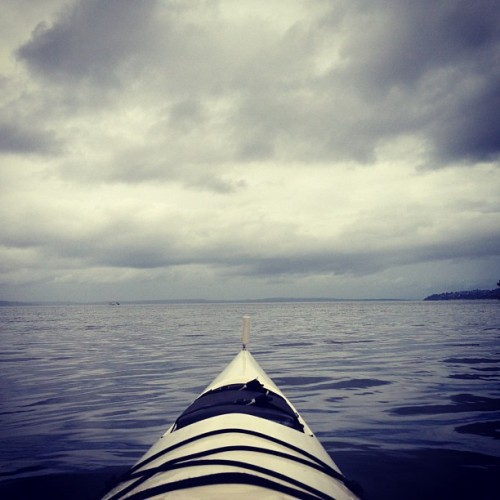 #kayak #pugetsound #water #mine (Taken with Instagram)