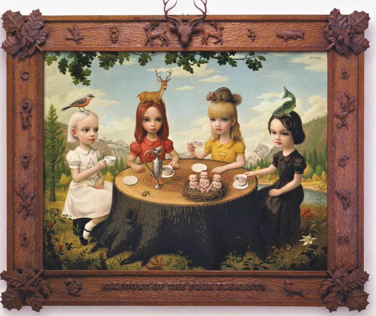 bohemea:  Allegory Of The Four Elements by Mark Ryden, 2006