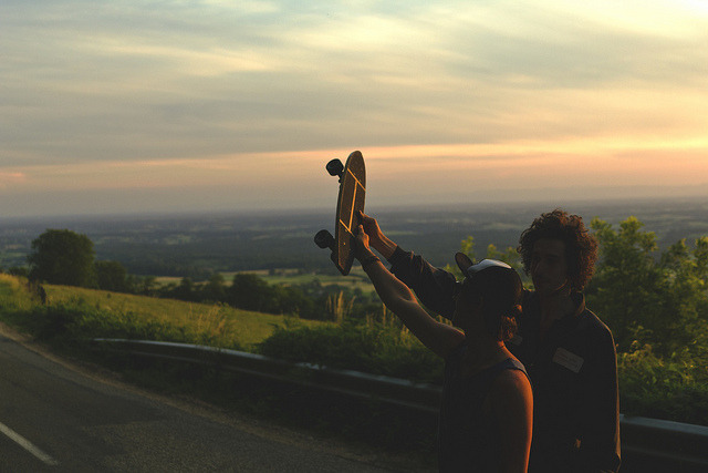 Sunset on Z board by Guillaume Grasse on Flickr.
