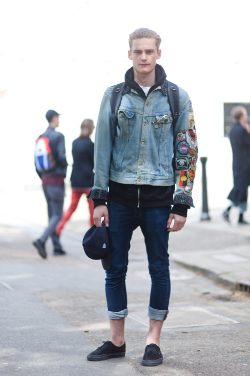 Kye D'Arcy @NextModels after JW Anderson SS13 in London Kye is at Next NY and London, EYE Paris, and 2morrow Milan