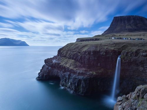 faroe islands village more cool: http://makevoyagesregretnothing.tumblr.com/