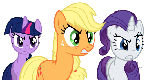 theponyartcollection:  Oh they mad by ~DrFatalChunk