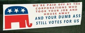 Anyone who thinks that corporations do not give money to the Democratic Party and their politicians is sorely mistaken.