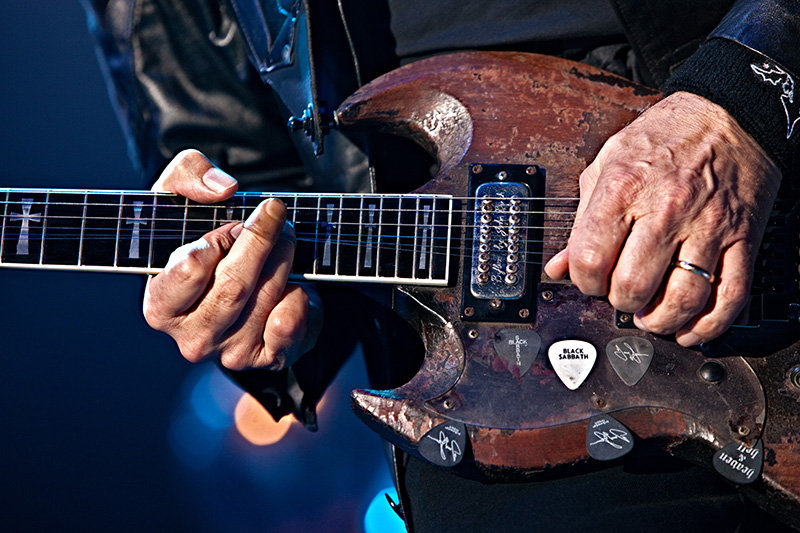 "bushdog:  Tony Iommi's ""Old Boy"""