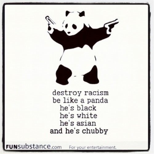 staranchorswag:  #destroy #racism #asian #funsubstance (Taken with Instagram)