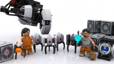 I so want this Lego set!  And a Lego Portal video game could be good but I don't know how they would do Gladdos voice mocking you the whole time.