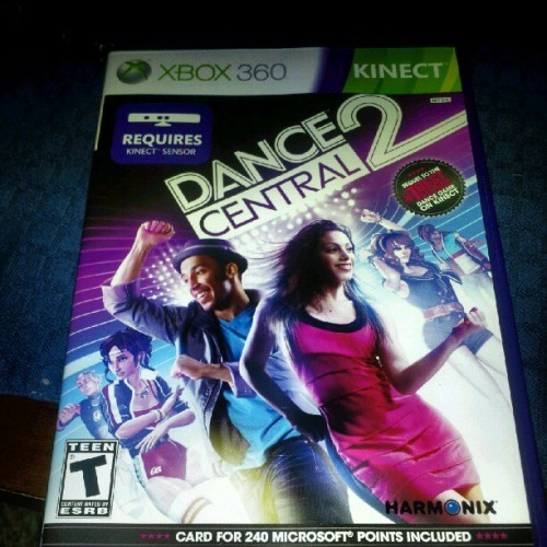 When there is nothing else to do #dancecentral2 #kinect #xbox360 (Taken with Instagram)