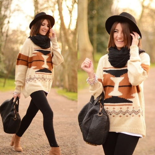 oversize sweater (by Alexandra Per)