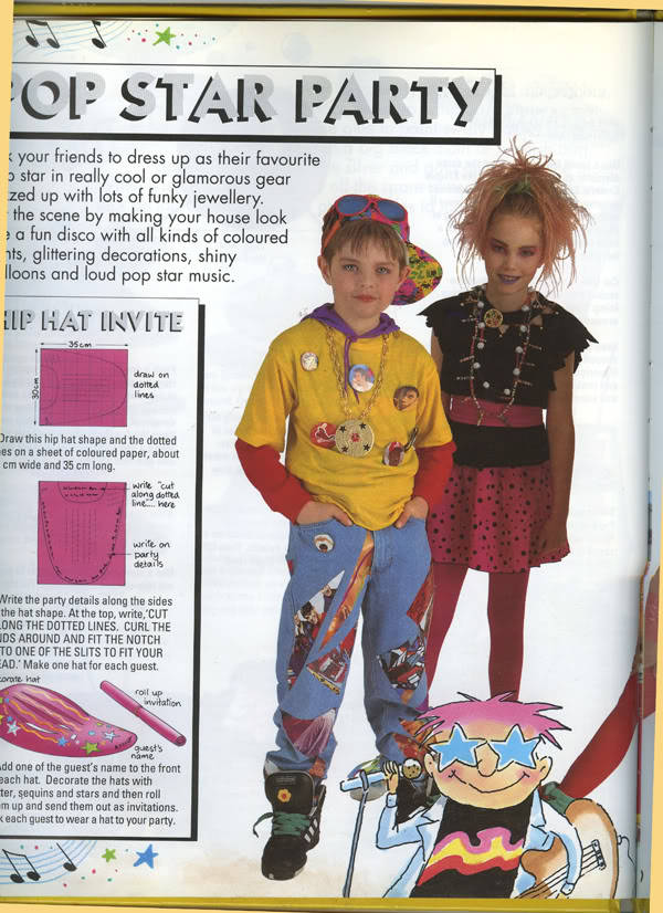 Me modeling for my Mums book, 9 years old