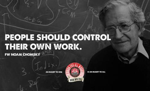Fellow Worker Noam Chomsky