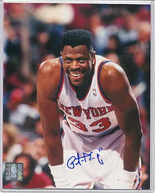 """Daddy's still got a flat top…"" I'm sure that Patrick Ewing's insistence on retaining the flat top stubbornly into the mid- and late 90s inspired Chris Rock's skit…"