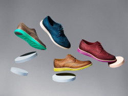 Cole Haan LunarGrand Leather Wingtip for Women