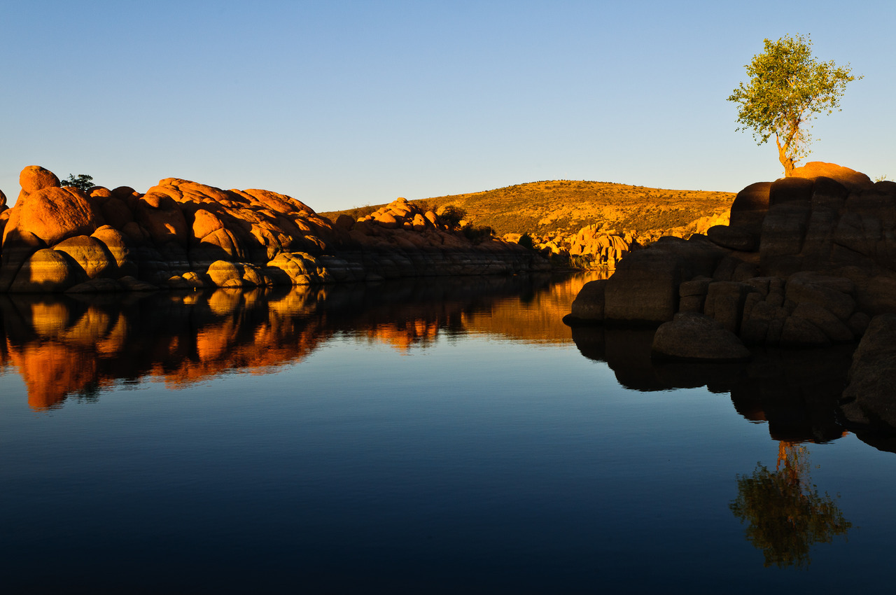 This is Watson Lake, located in Prescott, Arizona.  Took this a few weeks ago while on vacation to visit my parents.  Unfortunately, I could only spend about 20 minutes here, but it would be easy to spend a couple of days roaming the area.