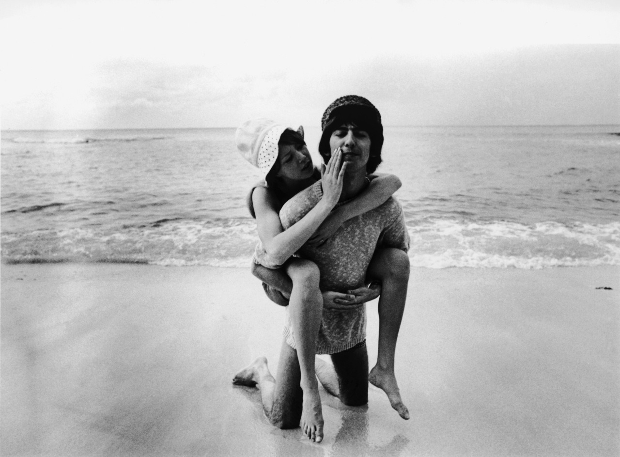bohemea:  Pattie Boyd & George Harrison on their honeymoon
