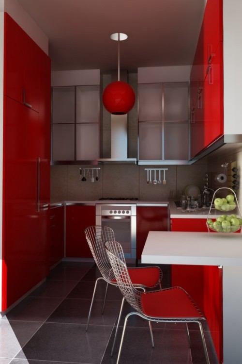 homedesigning:  (via Modern Style Kitchen Designs)