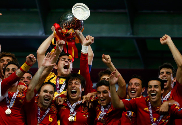 SPAIN CRUSHES ITALY 4-0 IN THE EURO 2012 FINAL