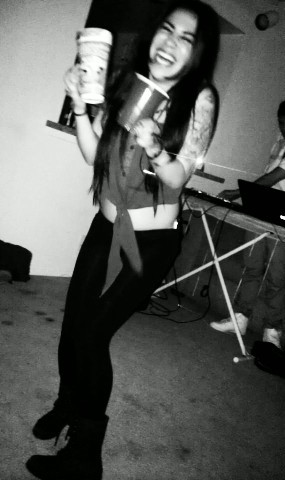 everyone says im always drunk, but at least i stay smilin' aha. (: