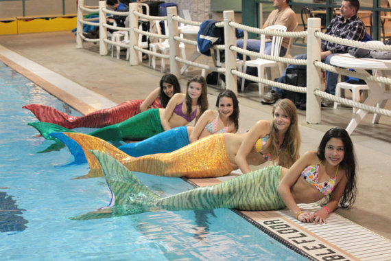 I'm sorry, but FUNCTIONAL MERMAID TAIL.