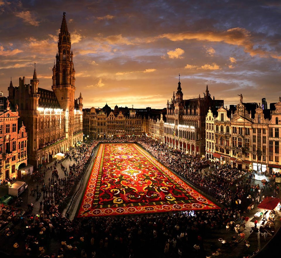 Brussels' Flower Carper