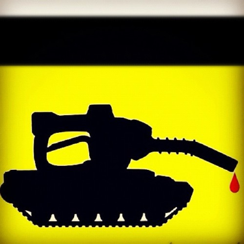 #oil #resources #gas #fossilfuels #energy #war #rethink  (Taken with Instagram)