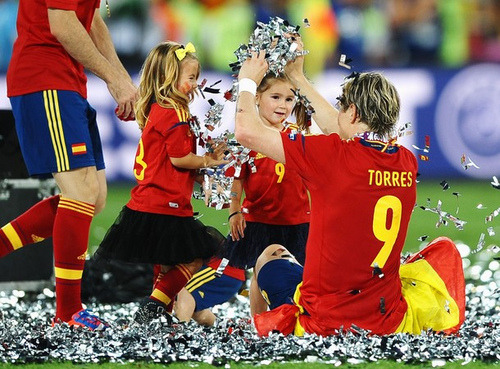 Torres be partying hard here
