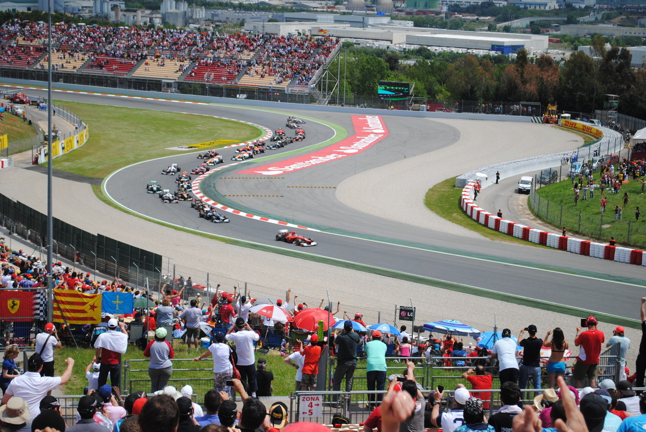 The Spanish Grand Prix 2012