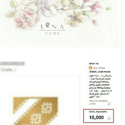 wehooo 'Lina Home' with 10000 viewers. LOVE them all (Taken with Instagram)