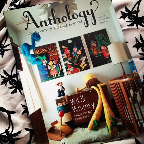 Anthology Magazine Issue No.7 just arrived! #magazine #read #heimastore #anthology  (Taken with Instagram)