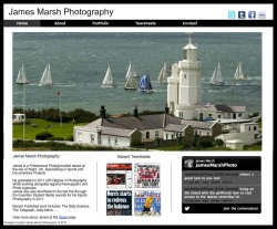 New website updates. www.jamesmarshphotography.co.uk