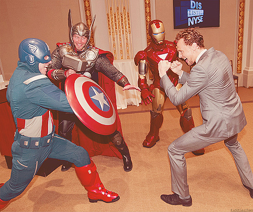 Aha!  Tom and the avengers